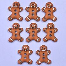DRESS IT UP Buttons Iced Cookies 5553 - Gingerbread Men - Xmas - Christmas