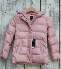GAP Kids NEW Girls 14-16 PINK PrimaLoft Luxe ColdControl Puffer Jacket Coat $98