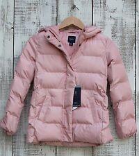 GAP Kids NEW Girls 14-16 PINK PrimaLoft Luxe ColdControl Puffer Jacket Coat $98