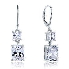Emerald Fine Diamond Earrings