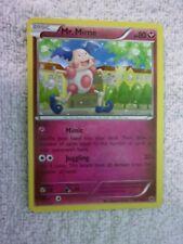 Carte pokémon mr mime 47/124 rare xy 10 destin Forge carte anglaise