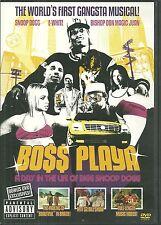 RARE / DVD - BOSS PLAYA / SNOOP DOGG / RAP US / COMME NEUF - LIKE NEW