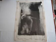 """2 LARGE MELVIN HUFF """"RECLINING FIGURE"""" LITHOGRAPH PRINTS - SIGNED - A-1"""