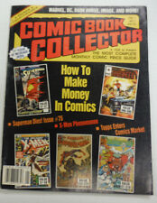 Comic Book Collector Magazine How To Make Money In Comics January 1993 070115R