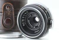 【Rare! Black NEAR MINT+3】 Nikon W-Nikkor 2.8cm 28mm f/3.5 S Mount From JAPAN 092