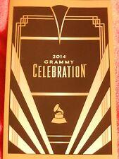 2014 GRAMMY AWARDS CELEBRATION PROGRAM CARD BOYZ II MEN CIARA BAD VOODOO DADDY