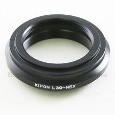 Kipon Leica M39 LTM LM39 Lens to Sony E NEX Adapter A7 A7R NEX-5T 7 A5000 A6000