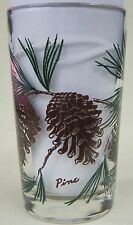 Pine juice size Peanut Butter Glass Glasses Drinking Kitchen  Mauzy 118-3
