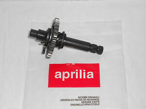 BRAND NEW GENUINE APRILIA RX-SX 50 06-10 STARTER SHAFT COMPLETE 847330