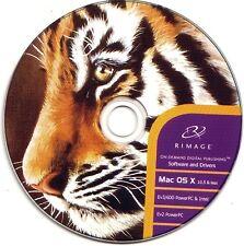 Rimage Everest MAC software & driver Suite Inc ufficio Net e Rimage CD LABELER