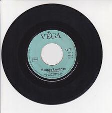 "Maurice LARCANGE Vinyl 45T 7"" AUBADE D'BIRDS -the TRIPLETS Accordion VEGA 3574"