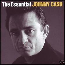 JOHNNY CASH (2 CD) THE ESSENTIAL D/Rem CD ~ 60's / 70's GREATEST HITS BEST *NEW*