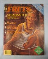 Vintage Frets Magazine August 1981 Stradivarius Acoustic String Instruments (O)