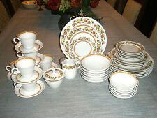 42pcs Picwick by Franciscan China  Dinnerware Cups Plates Bowls Cream Sugar Set