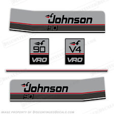 Johnson 1987-1988 90hp V4 VRO Decal Kit - Discontinued Decal Reproduction