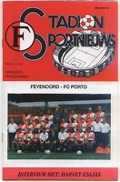 EC I CHAMPIONS LEAGUE 93/94 Feyenoord Rotterdam - FC Porto (04.11.1993)