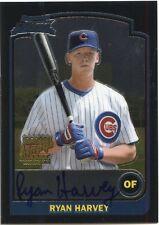 2003 Bowman Chrome Ryan Harvey On Card Autograph Chicago Cubs