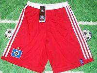 Hamburger SV HSV Short von Adidas -neu-kurze Hose - Kids/Kinder weiss-rot -