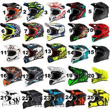 O'Neal 2series 3series MX Helm Crosshelm Motocross Cross Enduro Quad Spyde 2.0