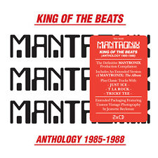 Mantronix - 'King Of The Beats: Anthology 1985-1988' (CD [2CD])