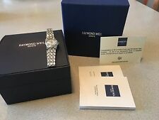 Raymond Weil Woman Watch Mother Of Pearl Dial W/ Diamond