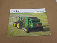 2011 John Deere Hay equipment Baler Mower Forage Harvester Rake sales brochure