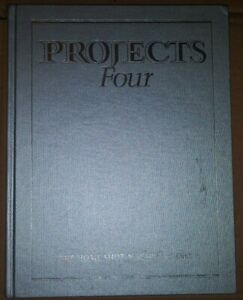 The Home Shop Machinist Inc. Projects Four 1991 First Printing Hardcover Book
