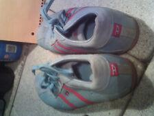 Evelyn Diesel Footwear girls women's tennis shoes size us7 blue & red stripes