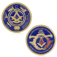 Masonic A Brotherhood of man Under Fatherhood of God Commemorative Coins Token