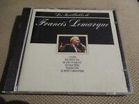 """CD """"LES INOUBLIABLES DE FRANCIS LEMARQUE"""" best of 14 titres"""