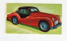 figurina card - LAMPO ALBO DELL'AUTOMOBILE - numero 164 TRIUMPH