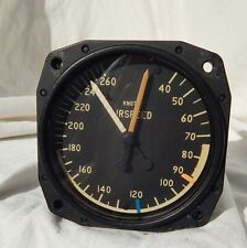Cessna Marked Aircraft 0-260 Knots Airspeed Indicator Gauge Instrument