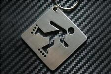 INLINE SKATING Keyring keyfob Schlüsselring porte-clés SKATE PARK BOOTS WHEELS