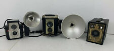 BROWNIE Vintage Camera Lot Starflex Reflex Six-20 Photography Collectible Kodak