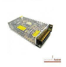 Alimentatore 12v  15A 180w metallico stabilizzato , trasformatore