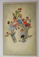 """""""Neujahr, Kinder, Hufeisen, Blumen"""" 1930 ♥"""