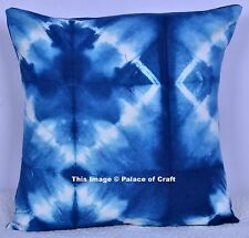 Traditional Cotton Abstract Tie Dye Pillow Case Boho Indian Cushion Cover Art