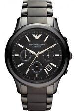 ** NEW **Emporio Armani® watch AR1451 Mens Black Ceramica