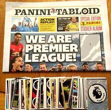 Panini Tabloid - Complete set of 120 cards, plus album