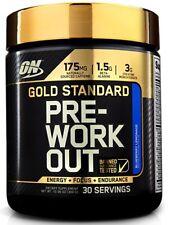 Optimum Nutrition Gold Standard Pre-Workout BLUEBERRY LEMONADE 30 Servings 02/20