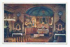 AUBOUE Meurthe et moselle CPA 54 l'intérieur de l'église en janvier 1926