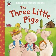 The Three Little Pigs, Ladybird Picture Book. Children's Home Reading, Learning