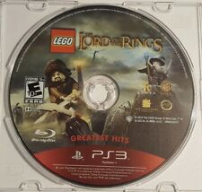 Lego The Lord of The Rings Greatest Hits Playstation 2012 PS3 Video Game