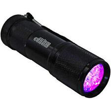 HQRP Professional Literna 9 LED UV 365nM Detector de cristal, uranio, vaselina