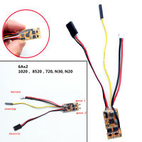Brushed ESC Double Motor Differential Mix Speed Controller for RC Airplane Parts