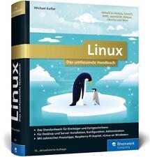 Linux von Michael Kofler (2017, Gebundene Ausgabe)