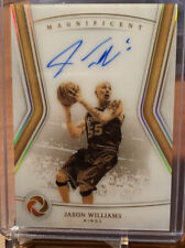 JASON WILLIAMS 2018–19 Panini Opulence Magnificent AUTO KINGS Autograph /79 SP