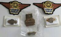6 Items Harley Davidson Motorcycles Harley Owners Group Ladies Of Harley Pins +