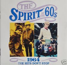 Time Life Spirit of the 60's - 1964 The Hits Don't Stop (CD 1991 UK) - VG++ 9/10
