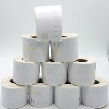 10x Rolls White Labels for Dymo Seiko 54mm x 101mm / 220 LabelWriter Printer